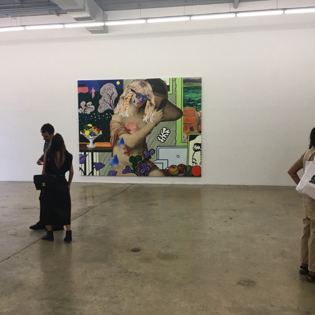 Mural at the Rubell Family Collection Gallery